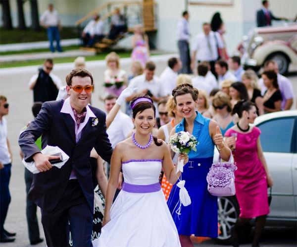 Свадьба в стиле «Стиляги»