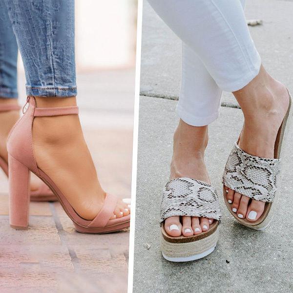 ff4e490d4 Мы собрали основные признаки модной обуви на лето 2019 года. Выбирайте  любимую модель, в которой будете чувствовать себя комфортно и уверенно!