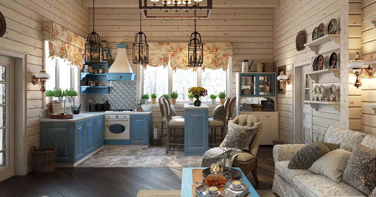 стильные идеи для дачного дома фото курортный